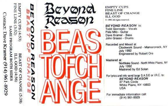 Beyond Reason - Beast of Change