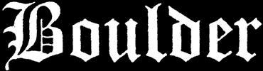 Boulder - Logo