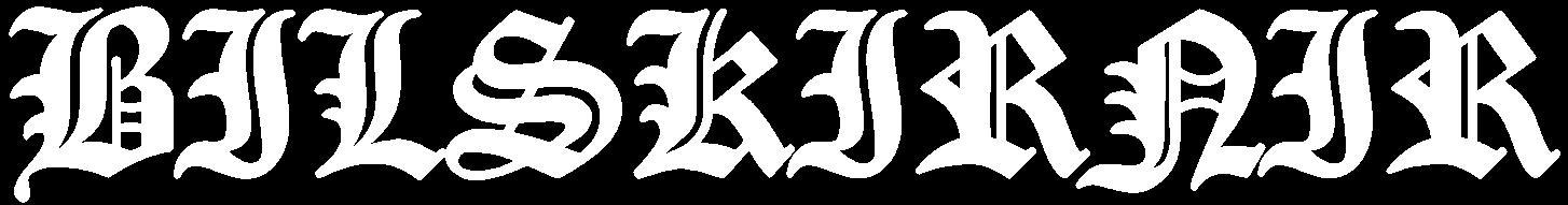 Bilskirnir - Logo