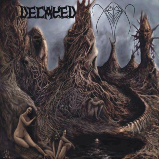Decayed / Xerión - Hymns to Satan / Na Mística Procura De Amh-ghad-ari