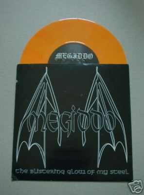 Megiddo - The Blistering Glow of My Steel