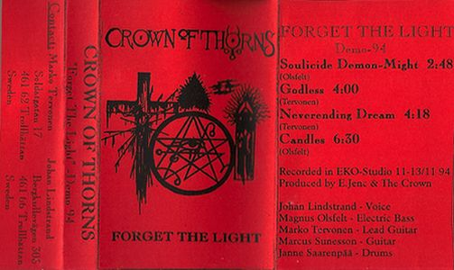 Crown of Thorns - Forget the Light