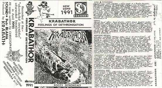 Krabathor - Pocity Detronizace