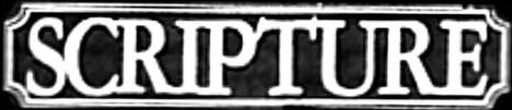 Scripture - Logo