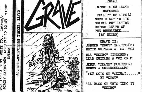 Grave - Sexual Mutilation