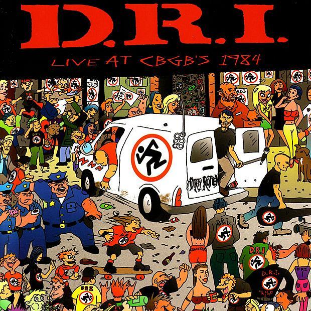D.R.I. - Live at CBGB's 1984