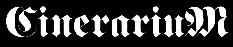 Cinerarium - Logo