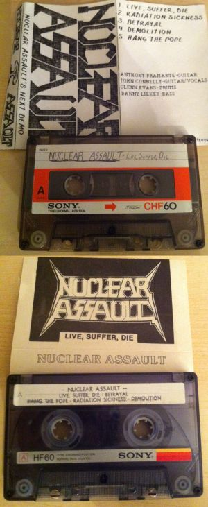 Nuclear Assault - Live, Suffer, Die
