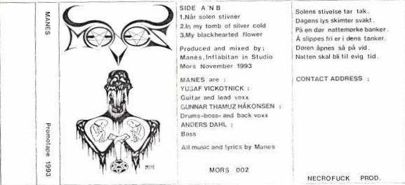 Manes - Promotape 1993
