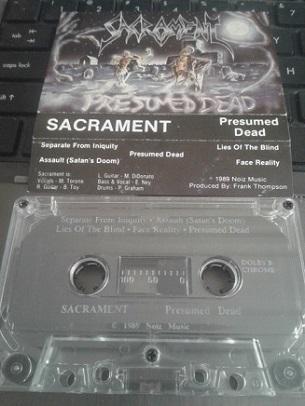 Sacrament - Presumed Dead