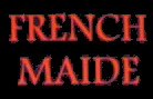 French Maide - Logo