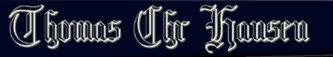 Thomas Chr Hansen - Logo