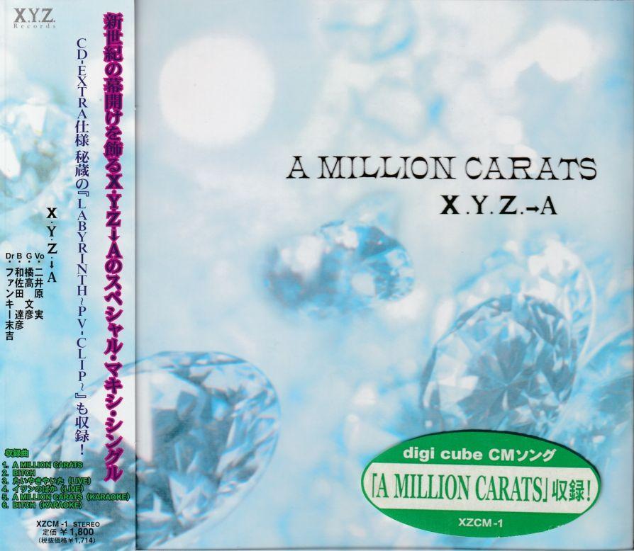 X.Y.Z.→A - A Million Carats