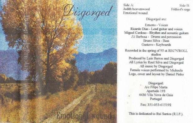 Disgorged - Emotional Wound