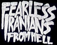 Fearless Iranians from Hell - Logo