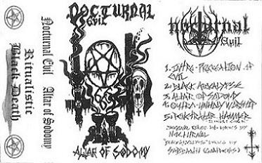 Nocturnal Evil - Altar of Sodomy