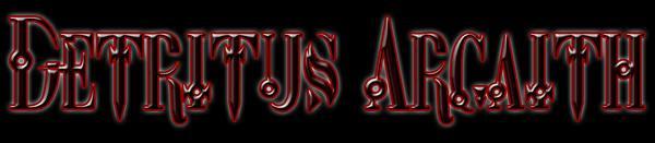 Detritus Argaith - Logo