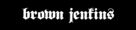 Brown Jenkins - Logo