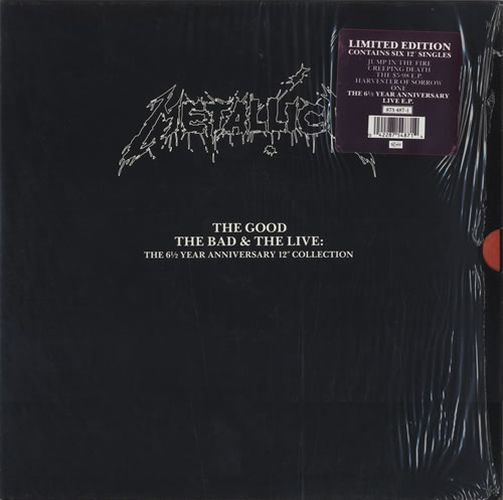 "Metallica - The Good, the Bad and the Live: The 6 1/2 Year Anniversary 12"" Collection"