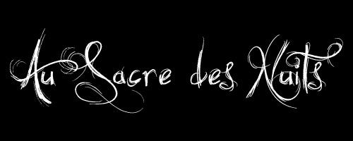 Au Sacre des Nuits - Logo