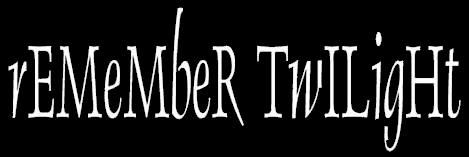 Remember Twilight - Logo