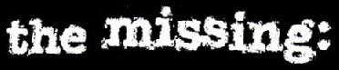 The Missing: - Logo