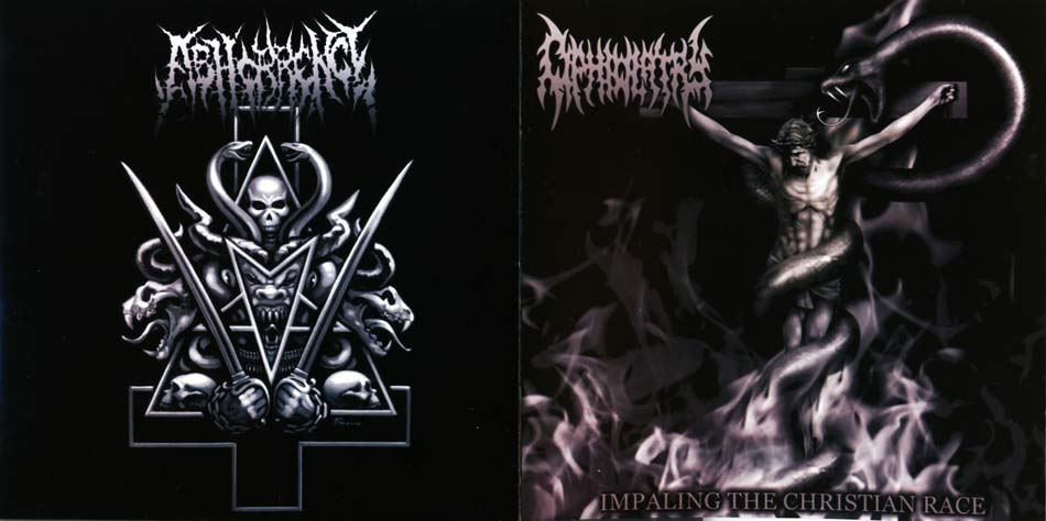 Abhorrence / Ophiolatry - Impaling the Christian Race