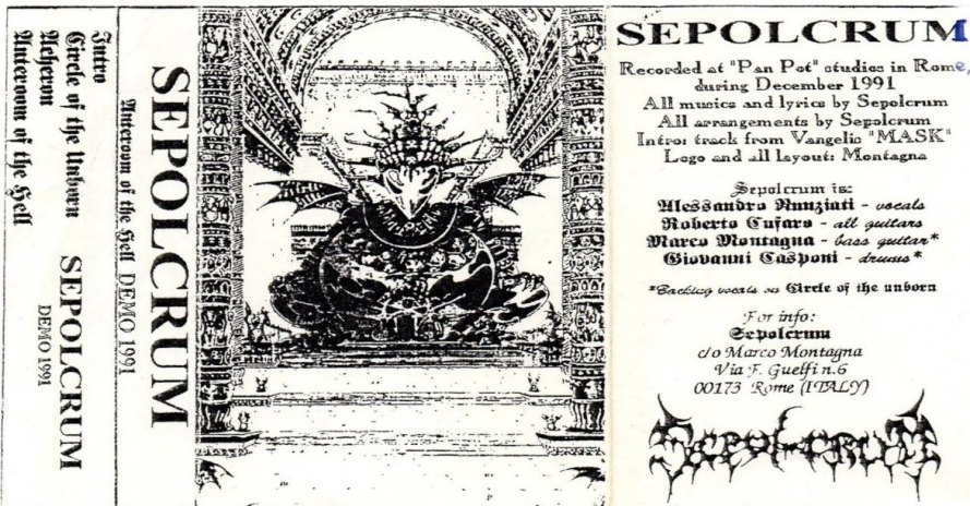 Sepolcrum - Anteroom of the Hell