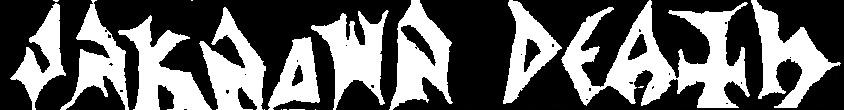 Unknown Death - Logo