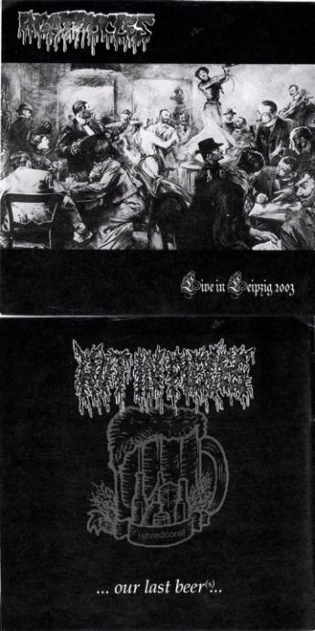 Agathocles / Rot in Pieces - Live in Leipzig 2003 / ... Our Last Beer(ˢ)...