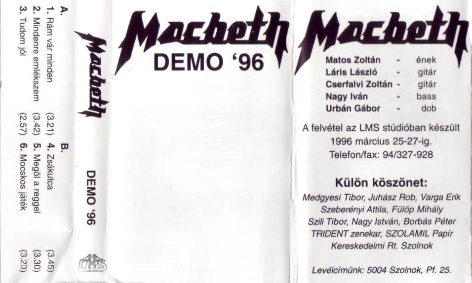 Macbeth - Demo 1996